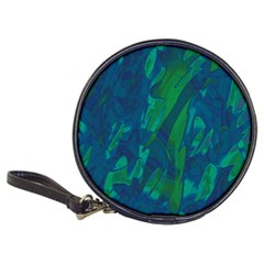 Green and blue design Classic 20-CD Wallets