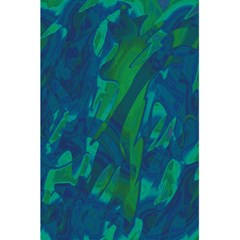 Green and blue design 5.5  x 8.5  Notebooks
