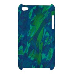 Green and blue design Apple iPod Touch 4