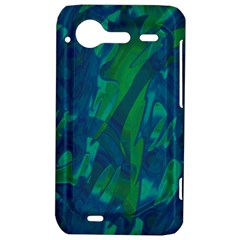 Green and blue design HTC Incredible S Hardshell Case