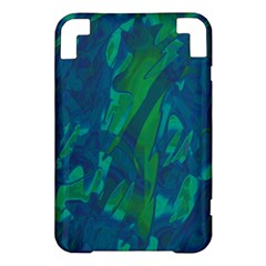 Green and blue design Kindle 3 Keyboard 3G