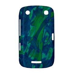 Green and blue design BlackBerry Curve 9380