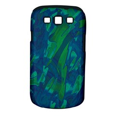 Green and blue design Samsung Galaxy S III Classic Hardshell Case (PC+Silicone)