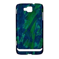 Green and blue design Samsung Ativ S i8750 Hardshell Case