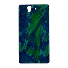 Green and blue design Sony Xperia Z