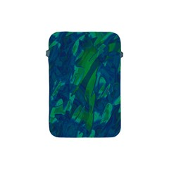Green and blue design Apple iPad Mini Protective Soft Cases