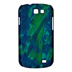 Green and blue design Samsung Galaxy Express I8730 Hardshell Case