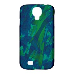 Green and blue design Samsung Galaxy S4 Classic Hardshell Case (PC+Silicone)