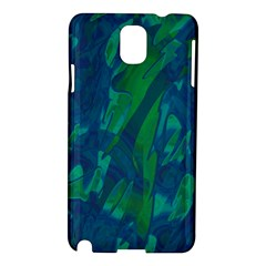 Green and blue design Samsung Galaxy Note 3 N9005 Hardshell Case