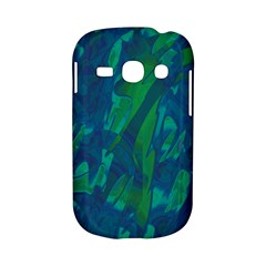 Green and blue design Samsung Galaxy S6810 Hardshell Case