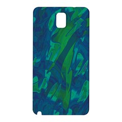 Green and blue design Samsung Galaxy Note 3 N9005 Hardshell Back Case
