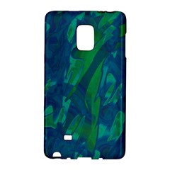Green and blue design Galaxy Note Edge