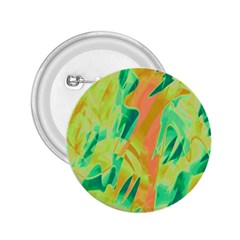 Green and orange abstraction 2.25  Buttons