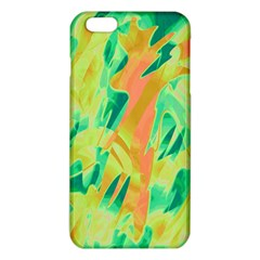 Green and orange abstraction iPhone 6 Plus/6S Plus TPU Case