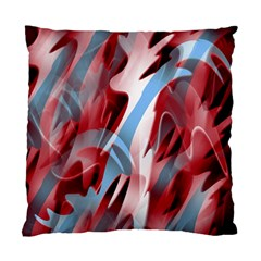 Blue and red smoke Standard Cushion Case (Two Sides)