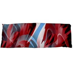 Blue and red smoke Body Pillow Case Dakimakura (Two Sides)