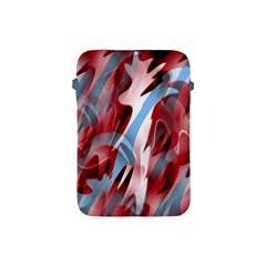 Blue and red smoke Apple iPad Mini Protective Soft Cases