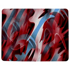 Blue and red smoke Jigsaw Puzzle Photo Stand (Rectangular)