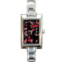 Painter was here  Rectangle Italian Charm Watch