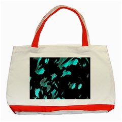 Painter was here - cyan Classic Tote Bag (Red)