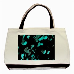 Painter was here - cyan Basic Tote Bag (Two Sides)