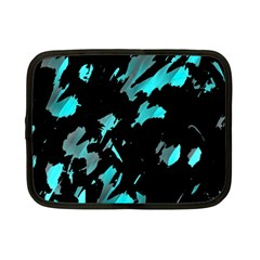 Painter was here - cyan Netbook Case (Small)
