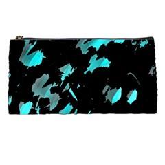 Painter was here - cyan Pencil Cases
