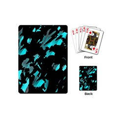 Painter was here - cyan Playing Cards (Mini)