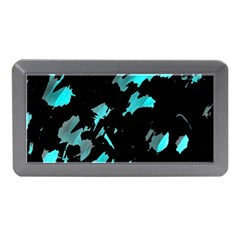 Painter was here - cyan Memory Card Reader (Mini)
