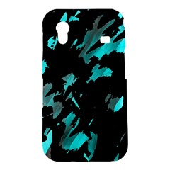 Painter was here - cyan Samsung Galaxy Ace S5830 Hardshell Case