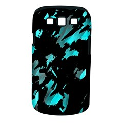 Painter was here - cyan Samsung Galaxy S III Classic Hardshell Case (PC+Silicone)