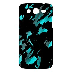 Painter was here - cyan Samsung Galaxy Mega 5.8 I9152 Hardshell Case