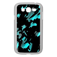 Painter was here - cyan Samsung Galaxy Grand DUOS I9082 Case (White)