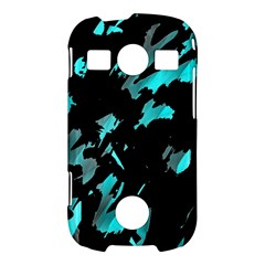 Painter was here - cyan Samsung Galaxy S7710 Xcover 2 Hardshell Case
