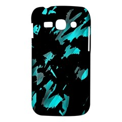 Painter was here - cyan Samsung Galaxy Ace 3 S7272 Hardshell Case