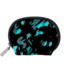 Painter was here - cyan Accessory Pouches (Small)