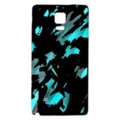 Painter was here - cyan Galaxy Note 4 Back Case