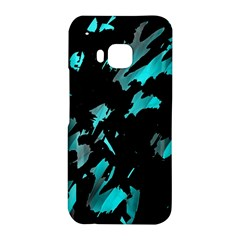 Painter was here - cyan HTC One M9 Hardshell Case