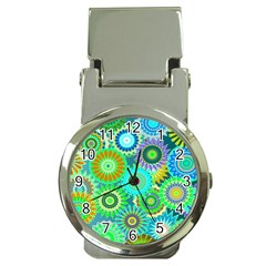 Funky Flowers A Money Clip Watches