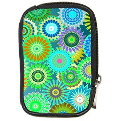 Funky Flowers A Compact Camera Cases