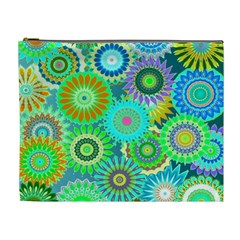Funky Flowers A Cosmetic Bag (XL)