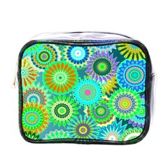 Funky Flowers A Mini Toiletries Bags