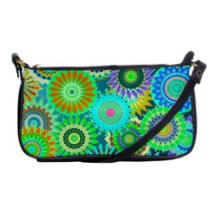 Funky Flowers A Shoulder Clutch Bags