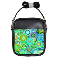 Funky Flowers A Girls Sling Bags