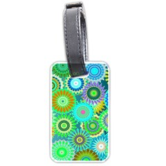 Funky Flowers A Luggage Tags (One Side)