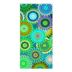 Funky Flowers A Shower Curtain 36  x 72  (Stall)