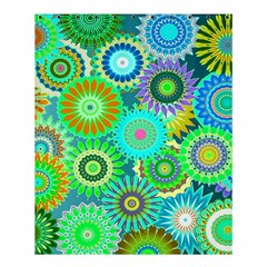 Funky Flowers A Shower Curtain 60  x 72  (Medium)
