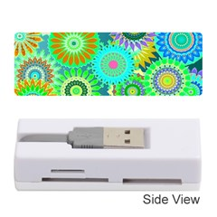 Funky Flowers A Memory Card Reader (Stick)