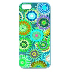 Funky Flowers A Apple Seamless iPhone 5 Case (Color)