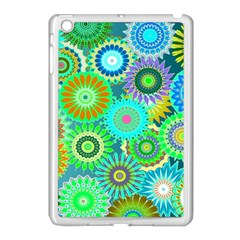 Funky Flowers A Apple iPad Mini Case (White)